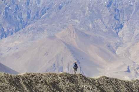 Descente vers Muktinath - Népal -