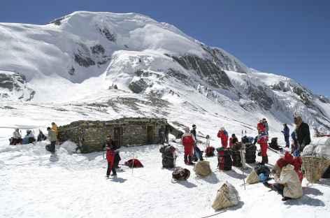 Au col de Thorong La (5416 m) - Népal -