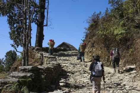 En route vers les sommets - Népal -