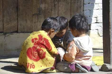 Réunion entre amis - Népal -