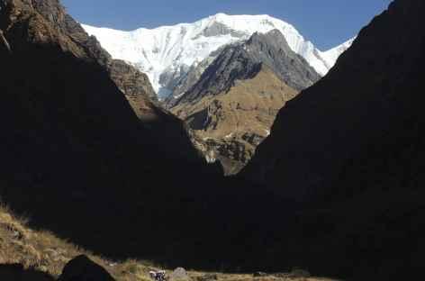 En montant vers Deurali - Népal -