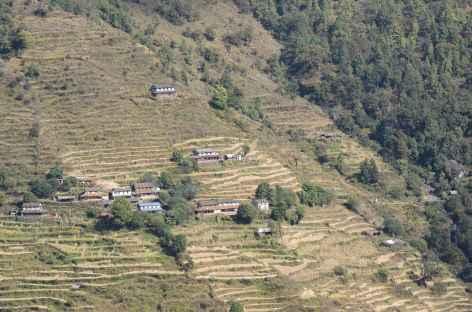 Village du sud des Annapurna - Népal -