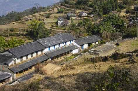 Habitat du sud des Annapurna - Népal -