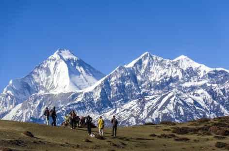 Vue du Dangla - Népal -
