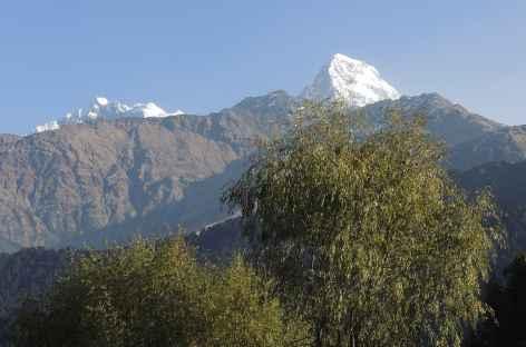 Les faces sud de l'Annapurna se dévoilent - Népal -