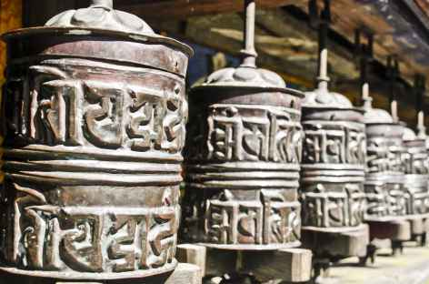 Moulins à prières - Népal -