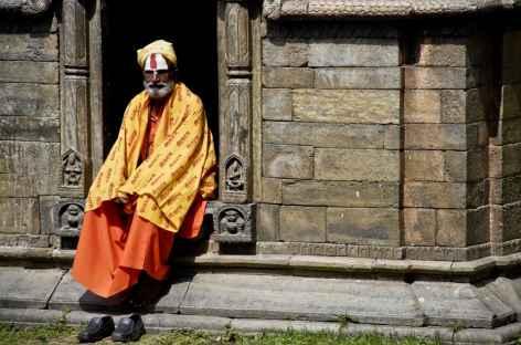 Saddhu à Pashupatinath - Népal -