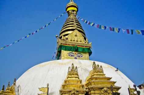 Stupa de Swayambunath - Népal -