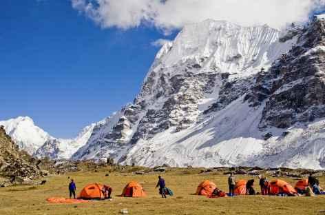 Camp de Lonak - Kangchenjunga Népal -