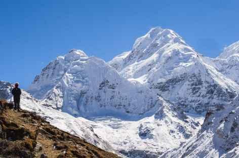 Au dessus du camp de base  - Kangchenjunga Népal -