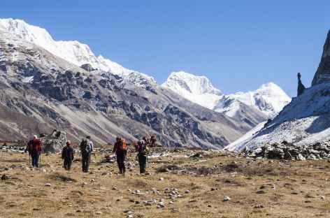 Entre Kambachen et Lonak - Kangchenjunga Népal -