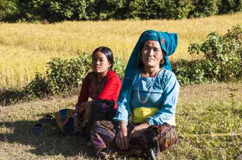 Dans la vallée - Kangchenjunga Népal -