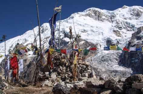 En direction de Yalung - Kangchenjunga Népal -