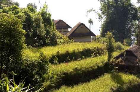 Habitat dispersé - Kangchenjunga Népal -