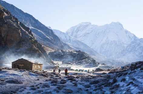 Lonak au petit matin - Kangchenjunga Népal -