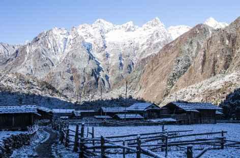 Ghunsa Kangchenjunga Népal -