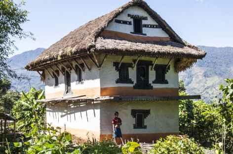Maison Typique des vallées - Kangchenjunga Népal -