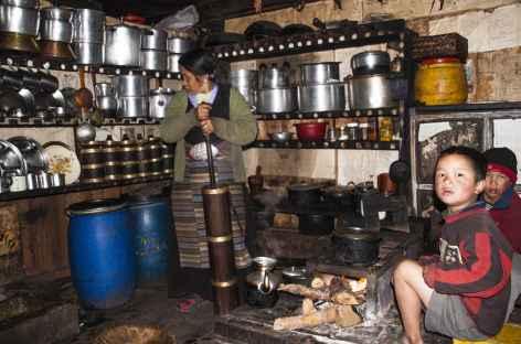 Maison à Ghunsa Kangchenjunga Népal -