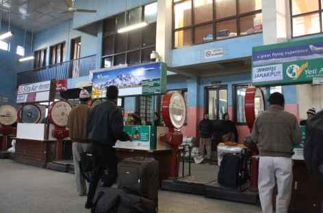 enregistrement pour les vols intérieurs - Népal -