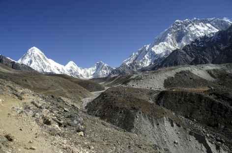 En montant vers Lobuche - Népal -