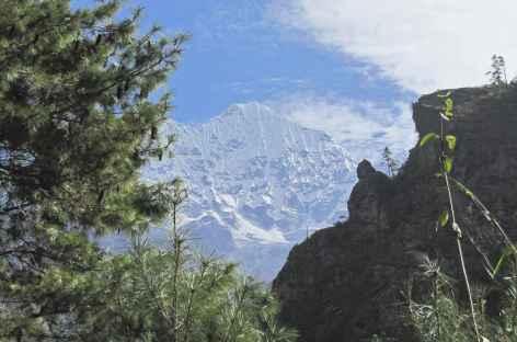 Première vues sur les montagnes - Népal -