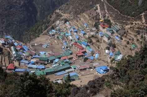 Descente sur Namche - Népal -