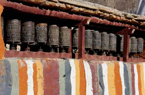 Moulins à prières de Tsarang, Mustang - Népal -