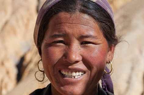 Sourire de Barcha, Mustang - Népal -