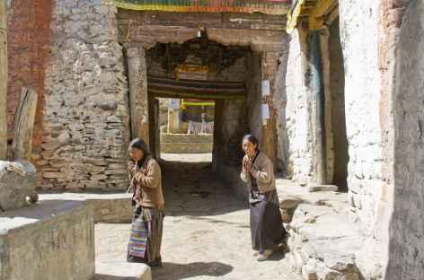 Porte d'entrée de la citadelle de Lo, Mustang - Népal -