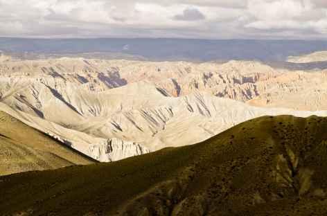 Depuis le Dakhmar La, Mustang - Népal -