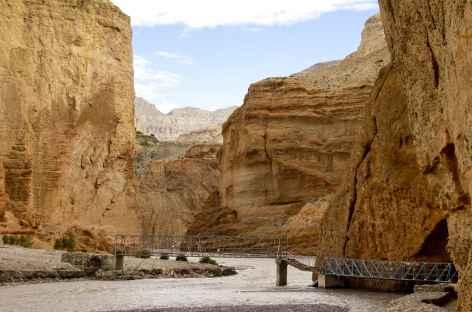 Pont de Chele, Mustang - Népal -