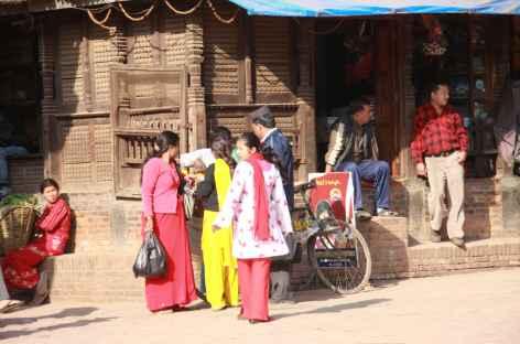 Echoppes à Kathmandu - Népal -
