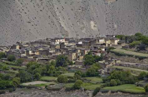 Village du Mustang - Népal -