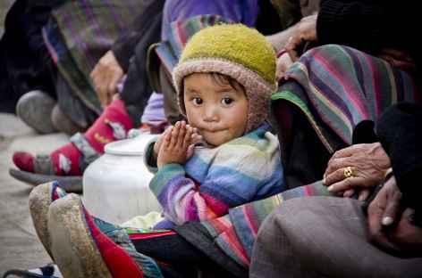 Enfant de Lo Manthang (Mustang, Népal) -