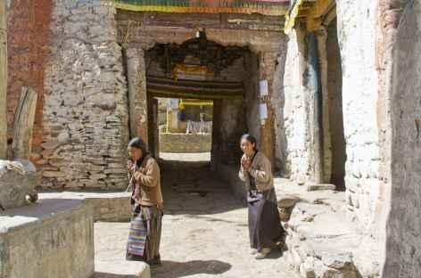 La porte d'entrée de Lo Manthang (Mustang, Népal) -
