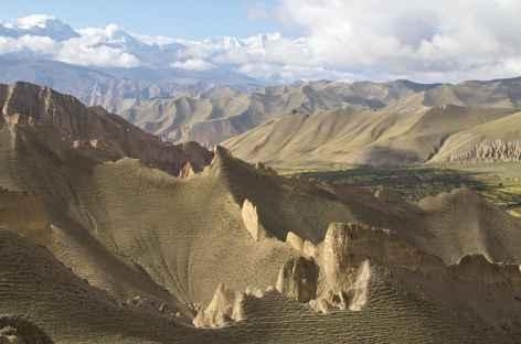 Col après Dhakmar  Mustang Népal -