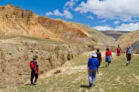 Au nord de Lo Manthang Mustang Népal -