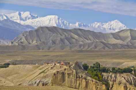 Annapurna I au-dessus de Tsarang - Nepall -