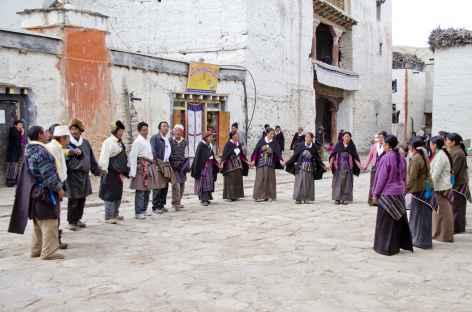Danses et folklore à Lo Manthang - Mustang, Népal -
