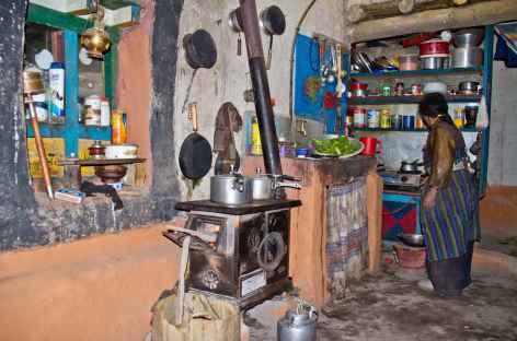 Cuisine typique au Mustang - Népal -