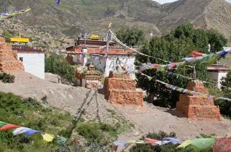 Monastère de Ghar - Mustang, Népal -