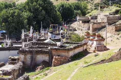 Village de Samar - Nepal -