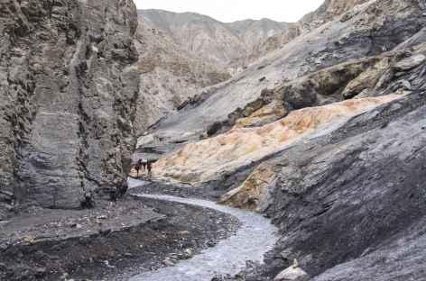 En montant sur Chödzong - Nepal -