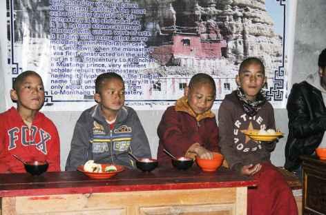 Ecole Monastique à Jhong - Nepal -