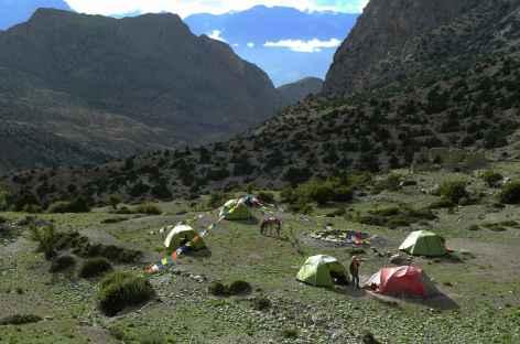 Kampa camp, Mustang - Népal -