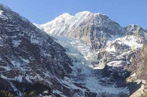 Cascade de glace du Gangapurna - Népal -