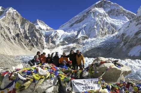 L'équipe de la formation médecine au camp de base de l'Everest - Népal -