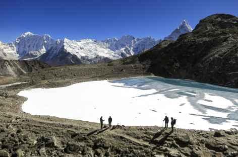 Lac au Kongma La - Népal -