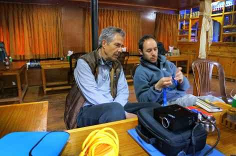 Soirée formation au lodge - Népal -