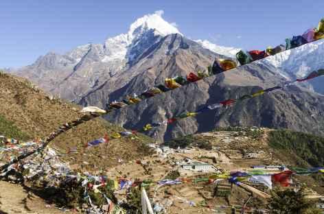 Namche et le Thamserku - Népal -